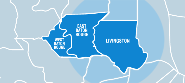 Services to Baton Rouge & Denham Springs